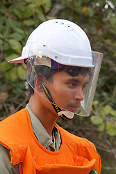 Observing Demining Operations