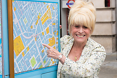 2015-08-05 Barbara Windsor MBE joins Team London Ambassadors to welcome visitors to London