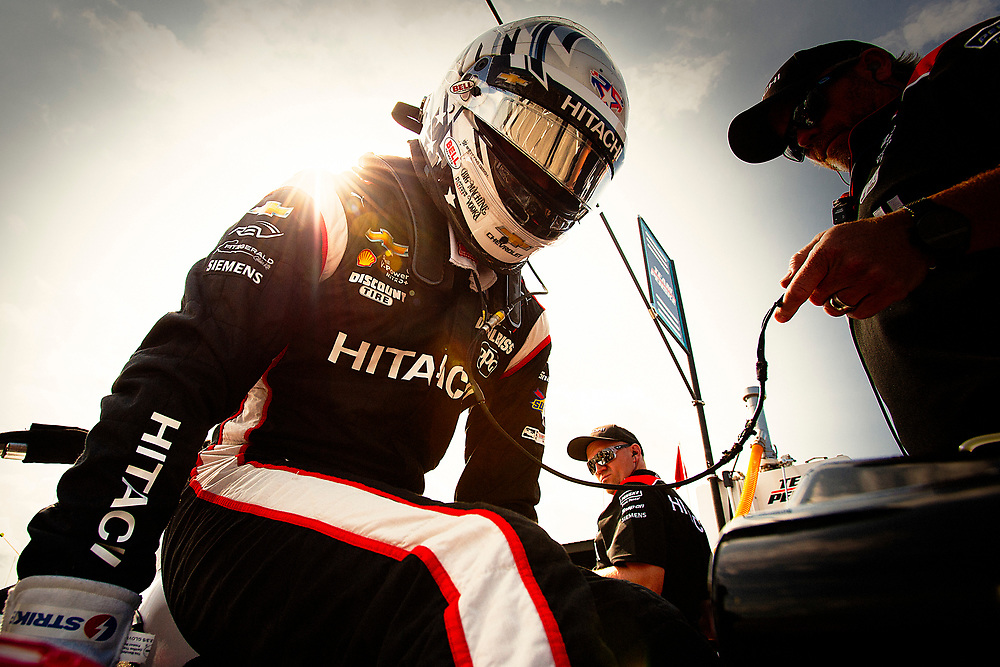 Josef Newgarden, Team Penske Chevrolet<br /> Friday 27 July 2018<br /> Honda Indy 200 at Mid-Ohio<br /> Verizon IndyCar Series<br /> Mid-Ohio Sports Car Course OH USA<br /> World Copyright: Scott R LePage