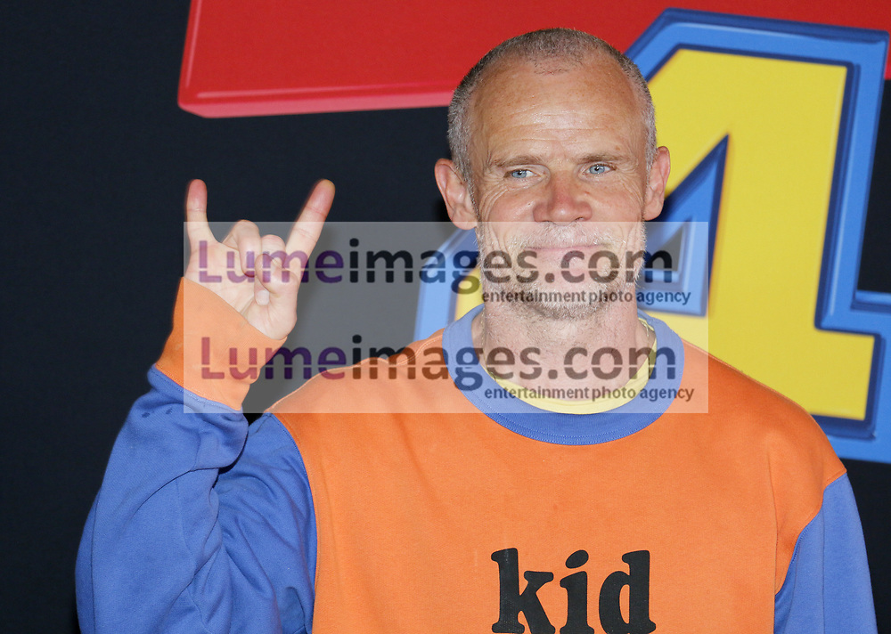 Flea at the World premiere of 'Toy Story 4' held at the El Capitan Theater in Hollywood, USA on June 11, 2019.