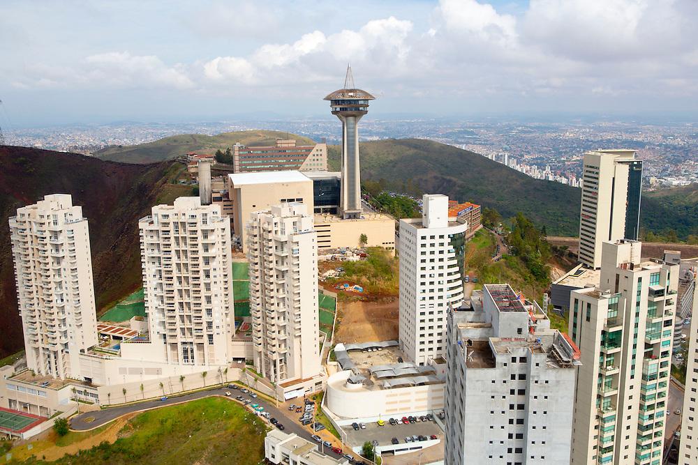 Belo Horizonte_MG, Brasil.<br /> <br /> Torre Alta Vila e bairro Vila da Serra em Nova Lima, Minas Gerais.<br /> <br /> Alta Vila tower and Vila da Serra neighborhood in Nova Lima, Minas Gerais.<br /> <br /> Foto: RODRIGO LIMA / NITRO