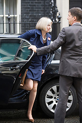 © London News Pictures. 01/11/2011. London, UK.  Home Secretary Theresa May arriving at 10 Downing Street this morning (01/11/2011) for a cabinet meeting. Photo credit: Ben Cawthra/LNP