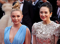 Florence Pugh and Zhang Ziyi at the La Belle Epoque gala screening at the 72nd Cannes Film Festival Monday 20th May 2019, Cannes, France. Photo credit: Doreen Kennedy