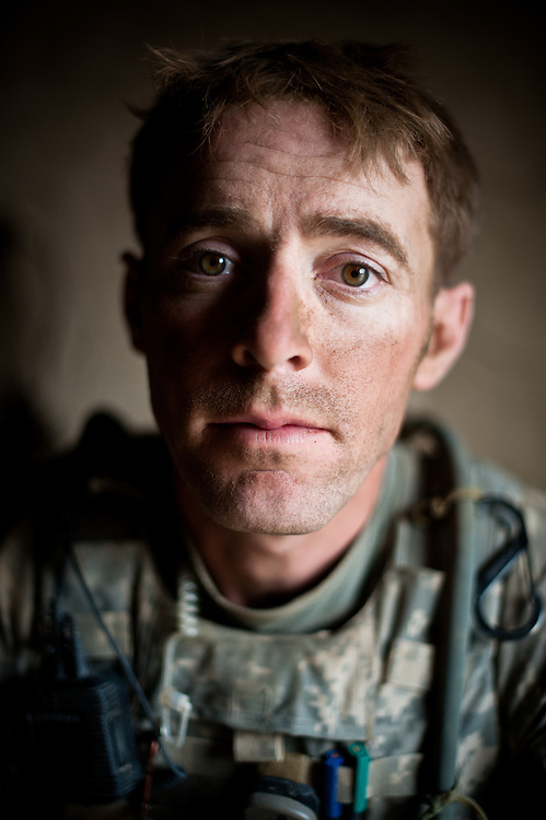 Sergeant First Class Andrew Fleck, an infantry platoon sergeant in the 2-502 Parachute Infantry Regiment, 101st Airborne Division.
