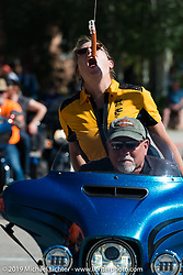 Weenie bite competition during the Rocky Mountain Regional HOG Rally bike games in Steamboat Springs, Colorado, USA. Saturday June 10, 2017. Photography ©2017 Michael Lichter.