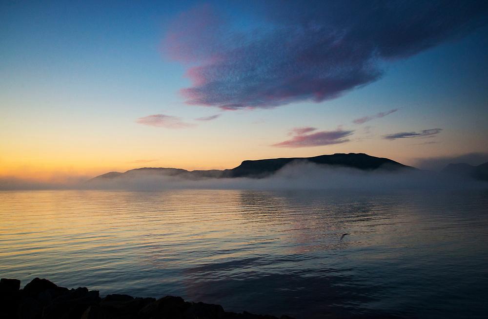 Midnight Sun, Grundarfjörður, Snæfellsnes peninsula