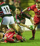 Leicester. ENGLAND. Welford Road. 14.12.2002. Pool Game in the<br /> European Heineken Cup Rugby <br /> Leicester Tigers vs Beziers<br /> Rod Kafer   [Mandatory Credit:Peter SPURRIER/Intersport Images]