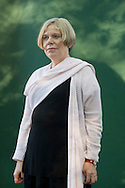 One of Britain's foremost religious and ethical thinkers, Karen Armstrong, pictured at the Edinburgh International Book Festival where she talked about her work. The Book Festival was the World's largest literary event and featured writers from around the world. The 2007 event featured around 550 writers and ran from 11-27 August.