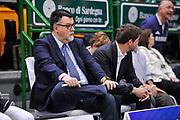 DESCRIZIONE : Campionato 2014/15 Dinamo Banco di Sardegna Sassari - Dolomiti Energia Aquila Trento Playoff Quarti di Finale Gara4<br /> GIOCATORE : Luigi Longhi<br /> CATEGORIA : Spettatori Pubblico Presidente<br /> SQUADRA : Dolomiti Energia Aquila Trento<br /> EVENTO : LegaBasket Serie A Beko 2014/2015 Playoff Quarti di Finale Gara4<br /> GARA : Dinamo Banco di Sardegna Sassari - Dolomiti Energia Aquila Trento Gara4<br /> DATA : 24/05/2015<br /> SPORT : Pallacanestro <br /> AUTORE : Agenzia Ciamillo-Castoria/L.Canu