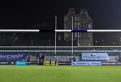 A general view of Recreation Ground  prior to kick off - Mandatory by-line: Ryan Hiscott/JMP - 08/01/2021 - RUGBY - Recreation Ground - Bath, England - Bath Rugby v Wasps - Gallagher Premiership Rugby