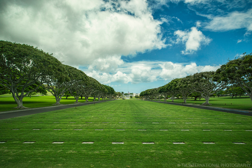 Mall Drive, National Memorial Cemetery of the Pacific