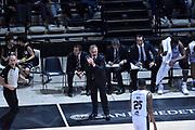 DESCRIZIONE : Bologna Lega A 2015-16 Obiettivo Lavoro Virtus Bologna - Umana Reyer Venezia<br /> GIOCATORE : Giorgio Valli<br /> CATEGORIA : Allenatore Coach Esultanza<br /> SQUADRA : Obiettivo Lavoro Virtus Bologna<br /> EVENTO : Campionato Lega A 2015-2016<br /> GARA : Obiettivo Lavoro Virtus Bologna - Umana Reyer Venezia<br /> DATA : 04/10/2015<br /> SPORT : Pallacanestro<br /> AUTORE : Agenzia Ciamillo-Castoria/GiulioCiamillo<br /> <br /> Galleria : Lega Basket A 2015-2016 <br /> Fotonotizia: Bologna Lega A 2015-16 Obiettivo Lavoro Virtus Bologna - Umana Reyer Venezia
