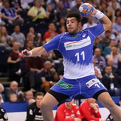 Hamburg, 24.05.2015, Sport, Handball, DKB Handball Bundesliga, HSV Handball - SG Flensburg-Handewitt : Kevin Herbst (HSV Handball, #11)<br /> <br /> Foto © P-I-X.org *** Foto ist honorarpflichtig! *** Auf Anfrage in hoeherer Qualitaet/Aufloesung. Belegexemplar erbeten. Veroeffentlichung ausschliesslich fuer journalistisch-publizistische Zwecke. For editorial use only.