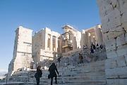 The Propylaia (main entrance), Acropolis, Athens, Greece, UNESCO word heritage site
