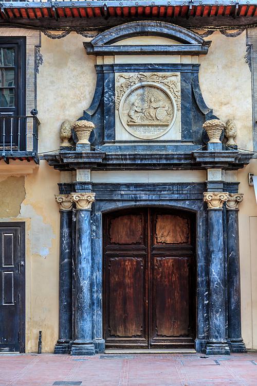 Casa del Consulado in Malaga, Spain.