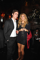 JAKE THOMSON and RUBY RUFUS-ISAACS at a party to celebrate the publication of the 2007 Tatler Little Black Book held at Tramp, 40 Jermyn Street, London on 7th November 2007.<br /><br />NON EXCLUSIVE - WORLD RIGHTS