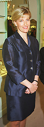 MISS SOPHIE RHYS-JONES at a reception in London on 20th May 1999.MSI 11 wo
