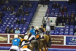 Horseball<br /> Match : 't Overdijk - 't Hoefijzer 3<br /> Flanders Horse Expo Gent  2012<br /> © Dirk Caremans