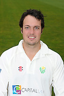 Gareth Rees. Glamorgan County Cricket Club, season 2012, photocall at the Swalec Stadium in Cardiff. pic by Andrew Orchard