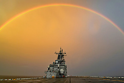 181003-N-PM193-100<br /> <br /> EASTERN PACIFIC OCEAN (Oct. 3, 2018) Amphibious assault ship USS Boxer (LHD 4) transits the Pacific Ocean. Boxer is underway in the U.S. 3rd Fleet area of operations. (U.S. Navy photo by Mass Communication Specialist 3rd Class Alexander C. Kubitza/Released)