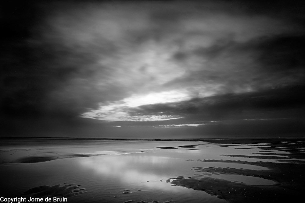 Twillight at the beach, Texel, the Netherlands
