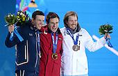 Alpine Skiing Downhill, Mens - Medal Ceremony