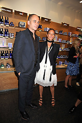 DINOS & TIPHAINE CHAPMAN at the Natural Beauty Honours 2008 hosted by Neal's Yard Remedies, 124b King's Road, London SW3 on 4th September 2008.<br /> <br /> NON EXCLUSIVE - WORLD RIGHTS