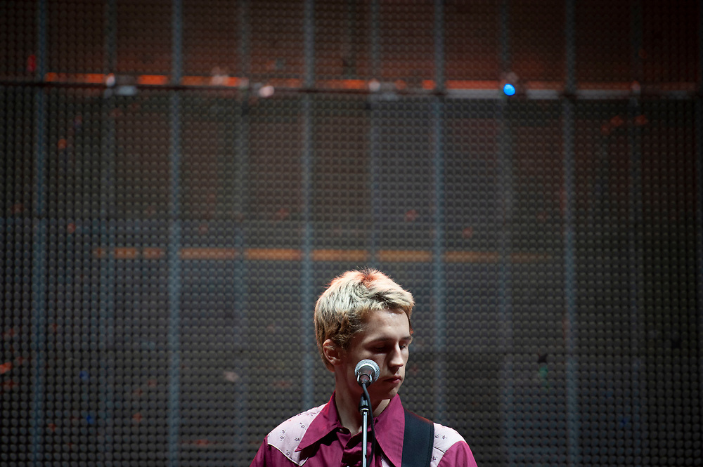 Seth of Greer performing at Pacific Amphitheatre August 26, 2021.