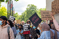 March for Shukri Abbdi  from Hyde Park to the  Department for Education photo by Mark Anton Smith