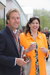 © Licensed to London News Pictures. 20/05/2013. London, England. Pictured: Ben Fogle and Kirsty Allsop. Celebrities at Press Day Monday of the RHS Chelsea Flower Show. Photo credit: Bettina Strenske/LNP