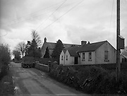 30/03/1957 <br /> Views of towns in Ireland. Clonmore, Co. Tipperary with National School and Catholic Church.