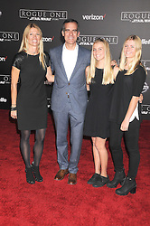 December 10, 2016 - Los Angeles, California, United States - December 10th 2016 - Los Angeles California USA - Mayor ERIC GARCETTI, AMY WAKELAND, guests   at the World Premiere for ''Rogue One Star Wars'' held at the Pantages Theater, Hollywood, Los Angeles  CA (Credit Image: © Paul Fenton via ZUMA Wire)