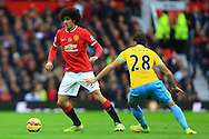 Marouane Fellaini of Manchester United - Manchester United vs. Crystal Palace - Barclay's Premier League - Old Trafford - Manchester - 08/11/2014 Pic Philip Oldham/Sportimage