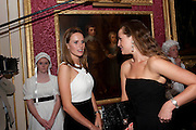 FRANCESCA CUMANI;, The Goodwood Ball. In aid of Gt. Ormond St. hospital. Goodwood House. 27 July 2011. <br /> <br />  , -DO NOT ARCHIVE-© Copyright Photograph by Dafydd Jones. 248 Clapham Rd. London SW9 0PZ. Tel 0207 820 0771. www.dafjones.com.