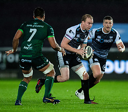 Luke Price of Ospreys<br /> <br /> Photographer Simon King/Replay Images<br /> <br /> Guinness PRO14 Round 6 - Ospreys v Connacht - Saturday 2nd November 2019 - Liberty Stadium - Swansea<br /> <br /> World Copyright © Replay Images . All rights reserved. info@replayimages.co.uk - http://replayimages.co.uk