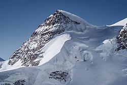15.01.2020, Jungfrauenjoch, Wengen, SUI, FIS Weltcup Ski Alpin, Vorberichte, im Bild Rottalhorn (3972m) // Rottalhorn (3972m) during a preliminary reports prior to the FIS ski alpine world cup at the Jungfrauenjoch in Wengen, Switzerland on 2020/01/15. EXPA Pictures © 2020, PhotoCredit: EXPA/ Johann Groder **** ACHTUNG - dieses Bilddatei ist für den Grossformatdruck in einer maximalen Grösse mit mehr als 18142 x 6717 pixel (ca. 700 MB) verfügbar! Fragen Sie nach den hochauflösenden Daten // ATTENTION - This image file is for Large Format Printing available in a maximum size of more then 18142 x 6717 pixels (about 700 MB)! Ask for the high-resolution data. ****