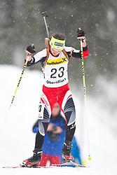 11.12.2010, Biathlonzentrum, Obertilliach, AUT, Biathlon Austriacup, Sprint Lady, im Bild Dunja Zdouc (AUT, #23). EXPA Pictures © 2010, PhotoCredit: EXPA/ J. Groder