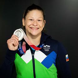 20210728: SLO, Judo - Reception of Tina Trstenjak, Olympic silver medalist