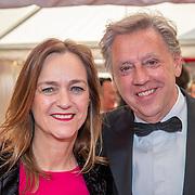 NLD/Amsterdam/201905225 - Amsterdamdiner 2019, Ed Nijpels en partner Elsbeth Janmaat