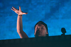 Avicii performs live at Bercy concert hall in Paris, France on February 14, 2014. Photo by Audrey Poree/ABACAPRESS.COM