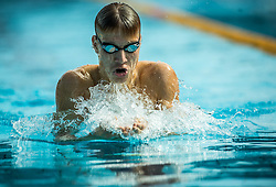 Aleksander Rupar of PK Fuzinar Ravne competes in 200m Breaststroke during Slovenian Swimming National Championship 2014, on August 3, 2014 in Ravne na Koroskem, Slovenia. Photo by Vid Ponikvar / Sportida.com