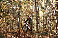 Fall Flurry mountain bike race at Gunstock.    Karen Bobotas for the Laconia Daily Sun