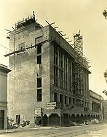 3/15/1926 Construction of the El Capitan Theater