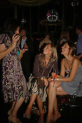 Martina Richardson, Jo Killick and Avril Oates, MILLA JOVOVICH, CARMEN HAWK & HARVEY NICHOLS CELEBRATE THE LAUNCH OF JOVOVICH-HAWK. FIFTH FLOOR CAFƒ. HARVEY NICHOLS. london.  27 April 2006. ONE TIME USE ONLY - DO NOT ARCHIVE  © Copyright Photograph by Dafydd Jones 66 Stockwell Park Rd. London SW9 0DA Tel 020 7733 0108 www.dafjones.com