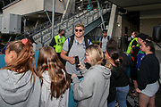 Jack Murchie with fans post-match. Vodafone Warriors v Manly Sea Eagles. NRL Rugby League, Central Coast Stadium, Gosford, NSW, Australia, Sunday 27th September 2020 Copyright Photo: David Neilson / www.photosport.nz