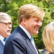 NLD/Utrecht/20160518 - Bezoek Koning Willem-Alexander aan het Hubrecht Instituut Utrecht,