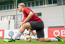 02.06.2018, Woerthersee Stadion, Klagenfurt, AUT, ÖFB Nationalteam, Training, im Bild Xaver Schlager (AUT) // Xaver Schlager of Austria during a Trainingssession of Austrian National Footballteam at the Woerthersee Stadion in Klagenfurt, Austria on 2018/06/02. EXPA Pictures © 2019, PhotoCredit: EXPA/ Johann Groder