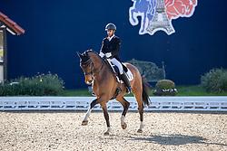 AGARWALLA Anush (IND), Flovinos Feiner Kerl<br /> Hagen - Horses and Dreams 2019<br /> Grand Prix de Dressage CDI4* Special Tour<br /> 27. April 2019<br /> © www.sportfotos-lafrentz.de/Stefan Lafrentz