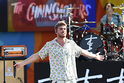 August 10, 2018 - New York, NY, USA - August 10, 2018 New York City..Drew Taggart of The Chainsmokers performing on Good Morning America's Summer Concert Series in Central Park on August 10, 2018 in New York City. (Credit Image: © Kristin Callahan/Ace Pictures via ZUMA Press)