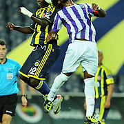 Fenerbahce's Issiar DIA (L) during their Turkish superleague soccer match Fenerbahce between Orduspor at the Sukru Saracaoglu stadium in Istanbul Turkey on Monday 12 September 2011. Fenerbahce played spectators match through suspension. Photo by TURKPIX